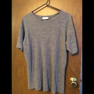 Avenue short sleeve sweater